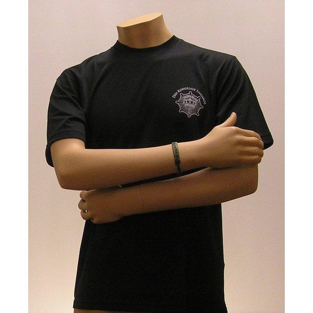 Løbe T-shirt, sort