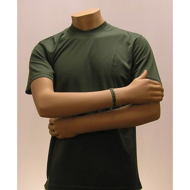 Løbe T-shirt, army