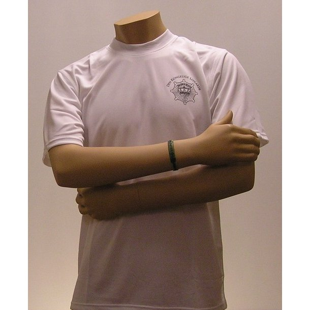 Løbe T-shirt, hvid