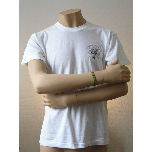 T-shirt, hvid