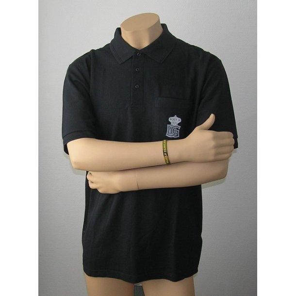 Polo shirt, mørkeblå